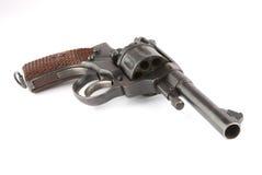 старый револьвер Стоковое Изображение