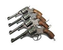 Старый револьвер 4 Стоковые Изображения