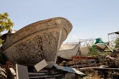 Старый ремонт корабля Стоковая Фотография