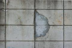Старый ремонт отказа бетонной стены Стоковое Изображение RF