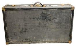Старый ретро винтажный изолированный чемодан перемещения Стоковые Изображения RF