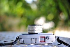старый ретро год сбора винограда стиля камеры фильма дальномера cl Стоковые Фото