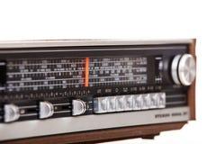 Старый ретро радиоприемник Стоковые Изображения