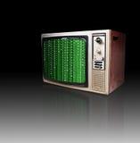 старый ретро tv Стоковые Изображения RF