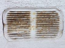 Старый ржавый вал вентиляции Стоковые Фотографии RF