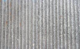 Старый ржавый гальванизированный цинк Стоковые Фото