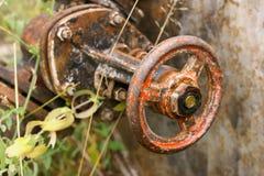 старый ржавый клапан Стоковое Изображение