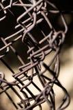 Старый ржавый провод Стоковые Фото