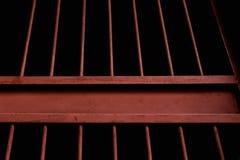 Старый ржавый стальной прут Стоковые Фотографии RF