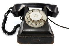 старый ржавый телефон стоковое изображение