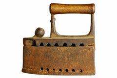 Старый ржавый утюг стоковое фото rf