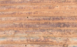 Старый ржавый цинк Стоковая Фотография RF