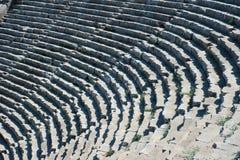 Старый римский амфитеатр стоковое изображение rf