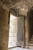 Старый римский город Gerasa современного Jerash Стоковые Фото