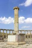 Старый римский город Gerasa современного Jerash Стоковая Фотография