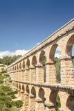 Старый римский мост-водовод в Испании, Европе Стоковая Фотография