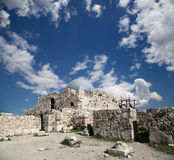 Старый римский холм цитадели столицы Аммана Джордана Стоковое Изображение RF