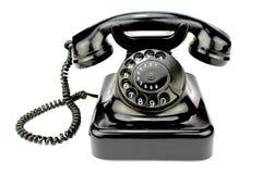 Старый роторный телефон Стоковое Изображение RF