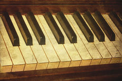 старый рояль фото стоковая фотография