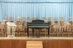 старый рояль Стоковая Фотография