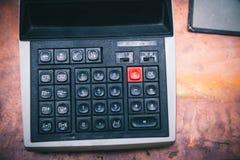 Старый русский калькулятор Стоковая Фотография