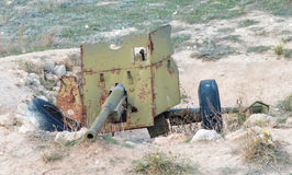 Старый русский карамболь оружия Стоковая Фотография RF