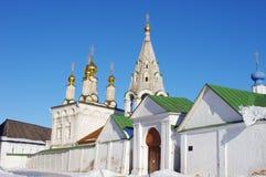 Старый русский монастырь в Рязани Стоковые Изображения