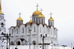 Старый русский собор Стоковое Изображение