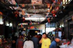 Старый рынок в Таиланде Стоковые Изображения RF