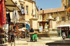 Старый рынок, Иерусалим Стоковые Изображения RF