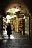 Старый рынок, Иерусалим Стоковые Фотографии RF