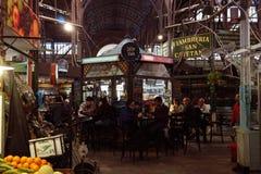 Старый рынок Сан Telmo Стоковые Изображения RF