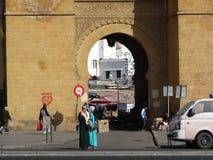 Старый рынок medina в Касабланке, Марокко Стоковое Изображение RF