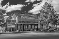 Старый салон Sourdough в Beatty - BEATTY, США - 29-ОЕ МАРТА 2019 стоковые изображения rf