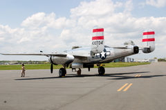Старый самолет США Стоковые Фотографии RF