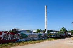 Старый сахарный завод в Кубе стоковое фото rf