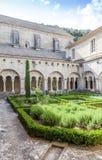 Старый сад аббатства стоковое изображение rf