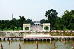 Старый сад Лахор Shalimar построенный императором Shah Jahan Mughal Стоковое фото RF