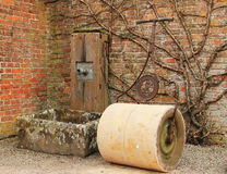 Старый сад Eqiupment Стоковые Изображения RF