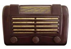 старый сбор винограда радио Стоковые Изображения