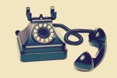 старый сбор винограда телефона Стоковые Изображения