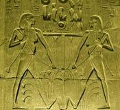 Старый сброс на Luxor Temple Стоковое Изображение