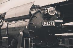 Старый свет локомотива пара стоковые изображения rf