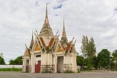 Старый свод виска Таиланда стоковое фото rf