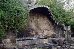 Старый свод Umm el Kanatir, Израиля Стоковая Фотография RF