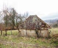 Старый сельский покинутый амбар Стоковые Фотографии RF