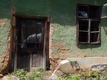 Старый сельский дом Стоковое Фото