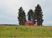 Старый сельский дом Стоковое Изображение RF