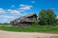 Старый сельский дом Стоковые Изображения