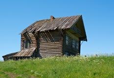 Старый сельский дом Стоковое фото RF